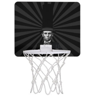 Abraham Lincoln Presidential Fashion Statement Mini Basketball Hoop