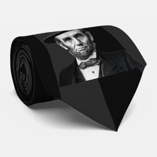 Abraham Lincoln Presidential Fashion Statement Tie