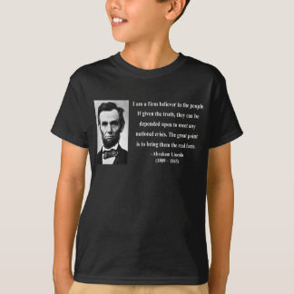 Abraham Lincoln Quote 14b T-Shirt