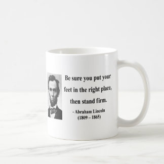 Abraham Lincoln Quote 16b Basic White Mug
