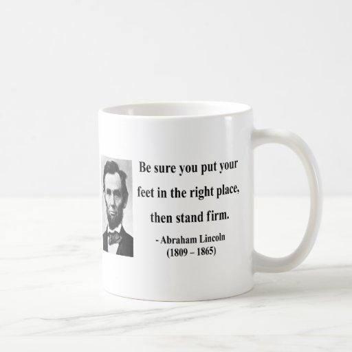 Abraham Lincoln Quote 16b Mugs
