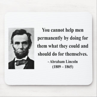 Abraham Lincoln Quote 4b Mouse Pad