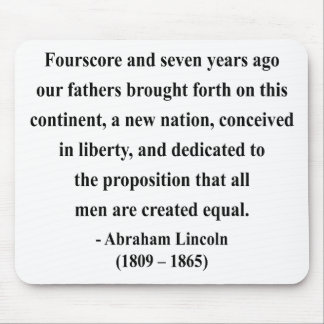 Abraham Lincoln Quote 5a Mouse Pad
