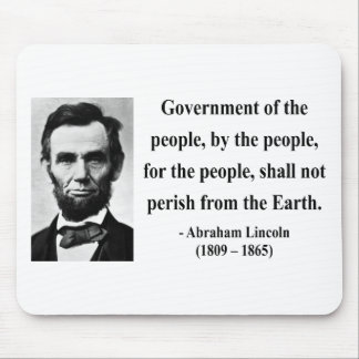 Abraham Lincoln Quote 7b Mouse Pad