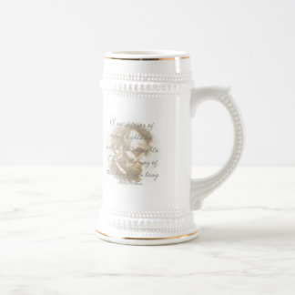 Abraham Lincoln Quote Beer Stein Coffee Mugs