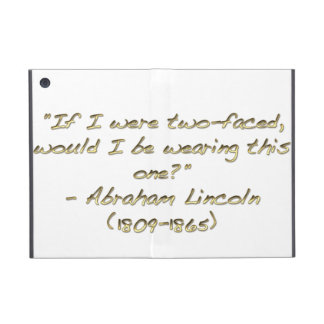 Abraham Lincoln quote Cover For iPad Mini