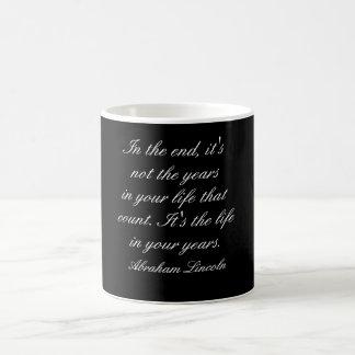 Abraham Lincoln quote - mug