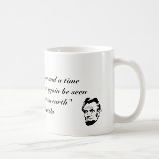 "Abraham Lincoln Quote Mug - ""My dream....."""