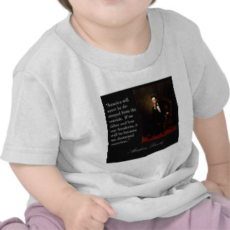 Abraham Lincoln Quote Portrait T-shirt