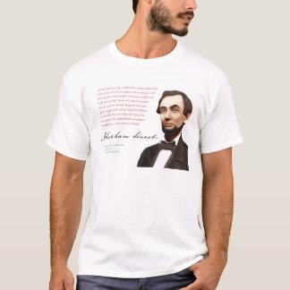 """Abraham Lincoln Shirt #5 """"Supreme Court"""""""