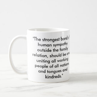 Abraham Lincoln Socialist Quote Coffee Mug