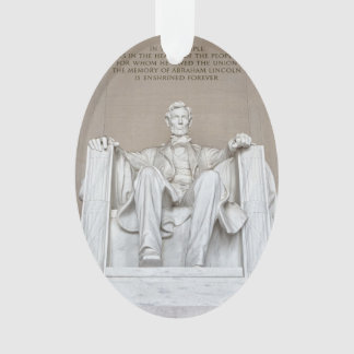 Abraham Lincoln Statue Ornament