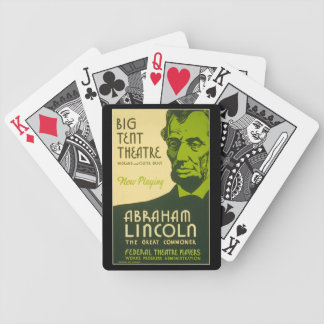 Abraham Lincoln The Great Commoner Bicycle Playing Cards