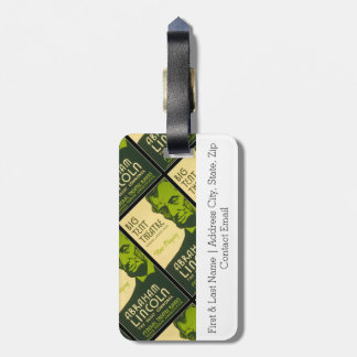 Abraham Lincoln The Great Commoner Luggage Tag