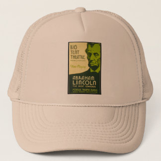 Abraham Lincoln The Great Commoner Trucker Hat