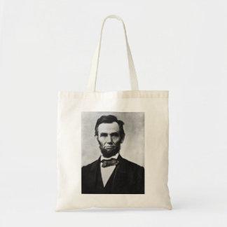 Abraham Lincoln Budget Tote Bag
