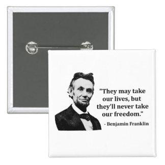 Abraham Lincoln Troll Quote Button
