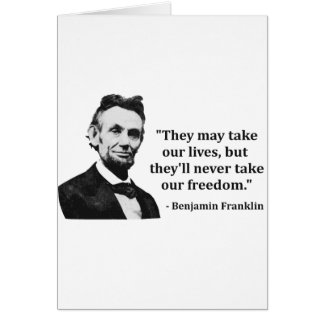 Abraham Lincoln Troll Quote Cards