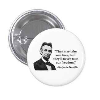 Abraham Lincoln Troll Quote Pins