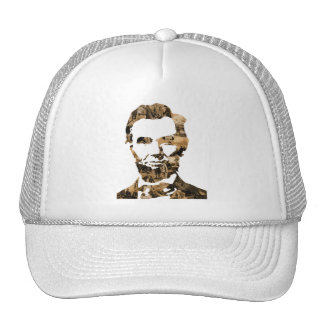Abraham Lincoln Trucker Hats
