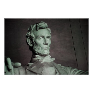 Abraham Lincoln USA American Photo Wall Poster