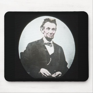 Abraham Lincoln Vintage Magic Lantern Slide Mouse Pad
