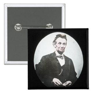 Abraham Lincoln Vintage Magic Lantern Slide Pin