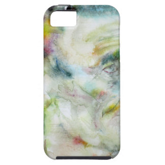 ABRAHAM LINCOLN - watercolor portrait iPhone 5 Cover