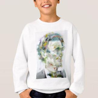 ABRAHAM LINCOLN - watercolor portrait Sweatshirt
