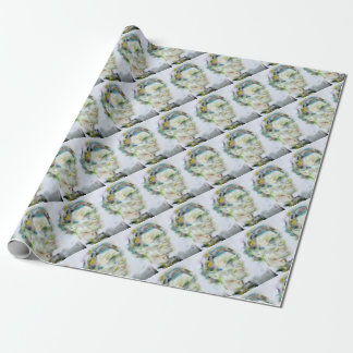 ABRAHAM LINCOLN - watercolor portrait Wrapping Paper