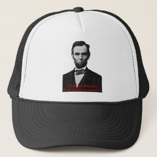 Abraham Lincoln's American Pride Trucker Hat