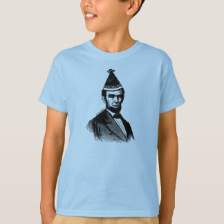 Abraham Lincoln's Birthday Bash Kids Shirt