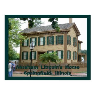 Abraham Lincoln's HomeSpringfi... Postcard