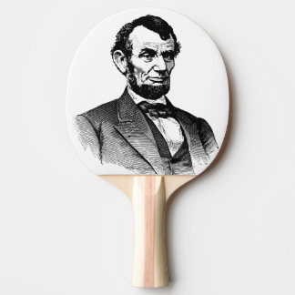 abraham lincon ping pong paddle