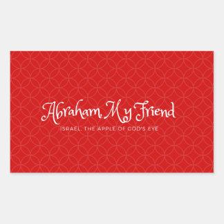 Abraham, My friend - sticker