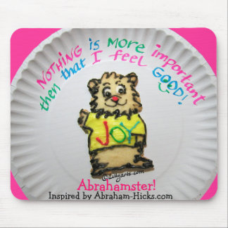 Abrahamster Cookie Feel Good Mousepad