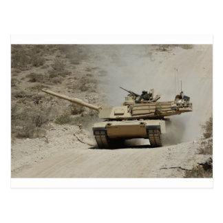 Abrams_Tank_at_the_Dona_Anna_Range Postcard