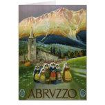 Abruzzo Greeting Card