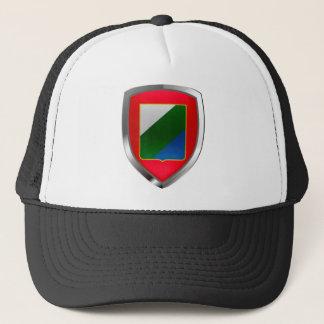 Abruzzo Mettalic Emblem Trucker Hat