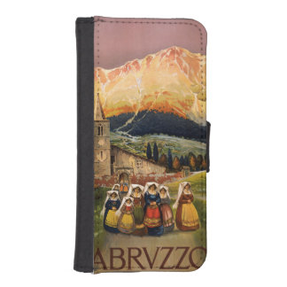Abrvzzo Italy vintage travel phone wallets