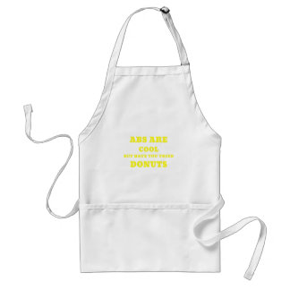 Abs are Cool but have you tried Donuts Standard Apron