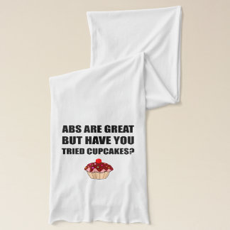 ABS Great Tried Cupcakes Scarf