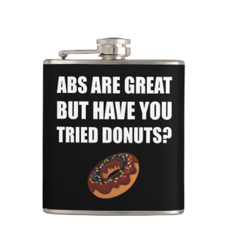 ABS Great Tried Donuts Hip Flask