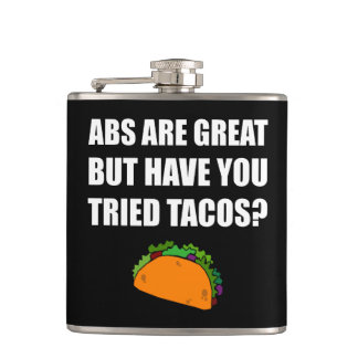 ABS Great Tried Tacos Flasks