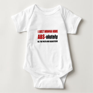 ABS Pasta Breadsticks Baby Bodysuit