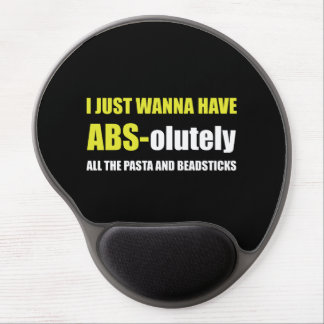 ABS Pasta Breadsticks Gel Mouse Pad