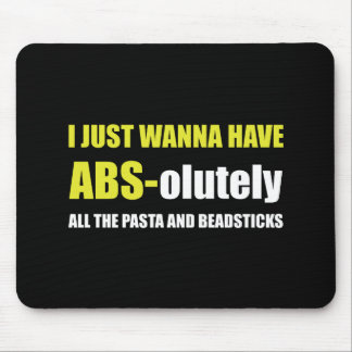 ABS Pasta Breadsticks Mouse Pad