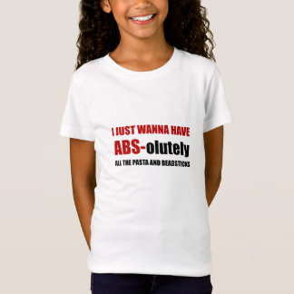 ABS Pasta Breadsticks T-Shirt