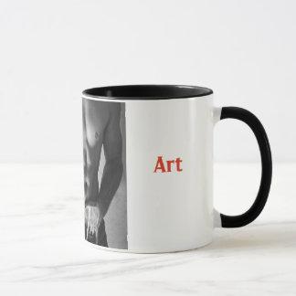 Abs-Tract Art Pun Mug