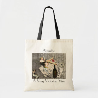Absinthe, A Very Victorian Vice Tote Bags